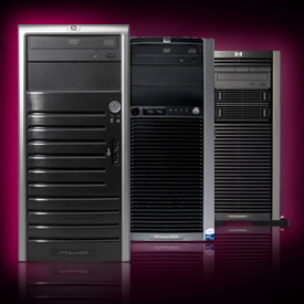 HP PROLIANT SERVER ML110 G5 XEON 3065 NHP-SAS