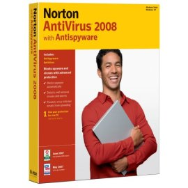 NORTON Anti Virus 2008 1 User