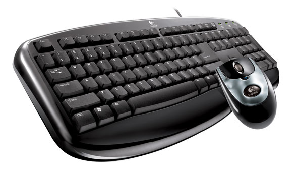LOGITECH Keyboard + Mouse Gaming
