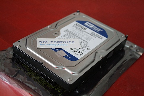 HDD WESTERN DIGITAL SATA II 320 GB